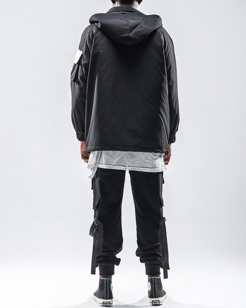 フルジップナイロンワークジャケットの画像2